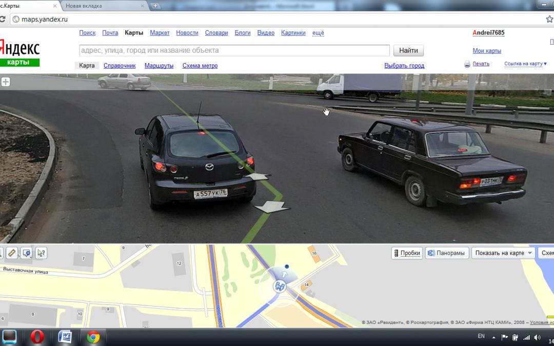 Как я попал на Яндекс панормаму.