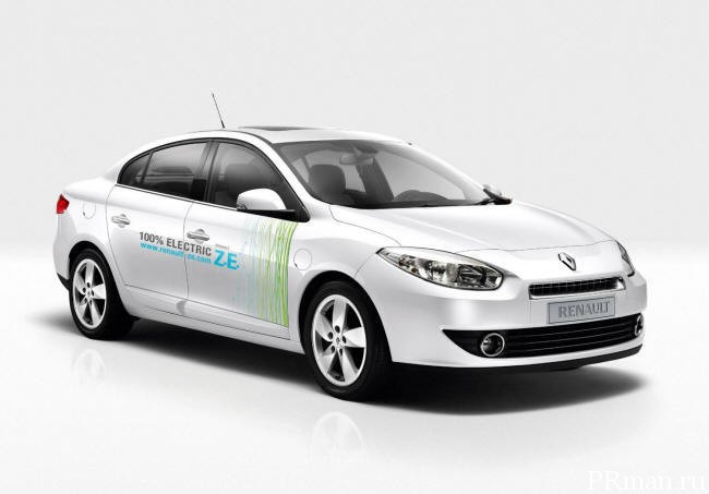 Renault Fluence Z.E. commercial