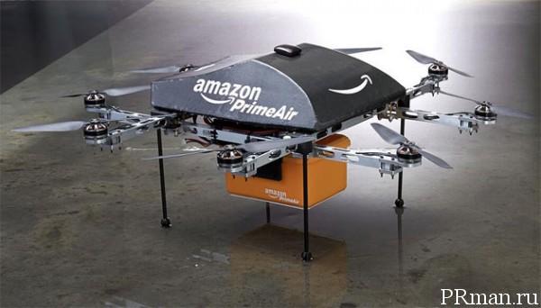 Amazon будет доставлять товары беспилотниками!
