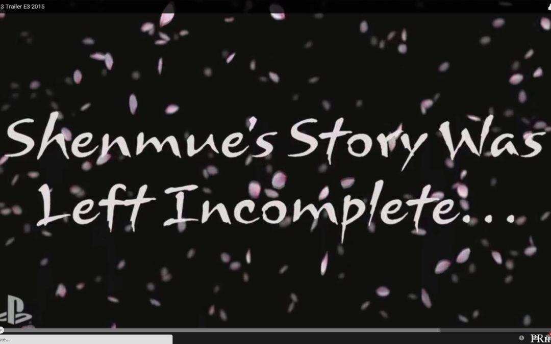 Shenmue 3 анонсирована на Kickstarter, сколько соберет?